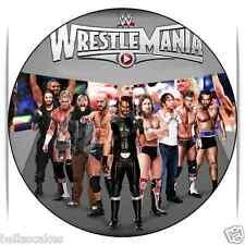 Eßbar WWE Dekoration Backen Tortenaufleger neu dvd 3 Wrestling Figur Jeff Hardy