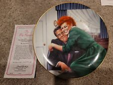 Hamilton Collection I Love Lucy The Big Squeeze collector plate