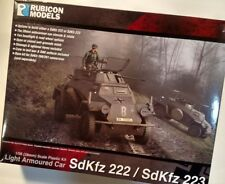 Rubicon Models: 280062 - SdKfz 222/223 German Light Armoured Car for Bolt Action