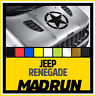Jeep Renegade Stella Militare - Modello Vintage 40 cm x 40 cm - High Quality