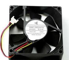 MMF-08G24TS-CN2 Mitsubishi inverter fan 8025 8CM DC 24V 0.21A 3-pin