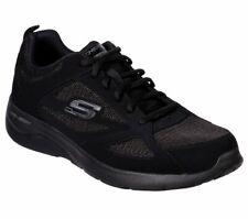 Skechers Wide Fit Black shoes Men Memory Foam Sport Comfort Casual Sneaker 58363
