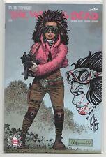 Walking Dead #171 – Remarked / Sketch by Ken Haeser (Image) 1st Juanita Sanchez