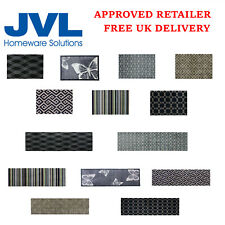 JVL Mega Mat Butterfly Diamond Geo Indoor Door Mats Available In Various Sizes