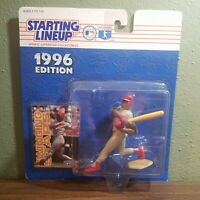 1996 Ron Gant Starting Lineup Action figure and card New in Box