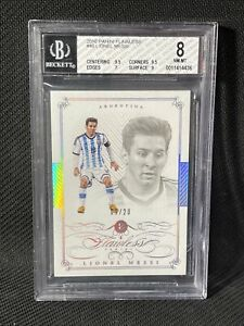 2016 Flawless Soccer #40 Lionel Messi #9/20 BGS 8 Argentina 🇦🇷🔥📈