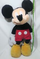 """Mickey Mouse Plush 28"""" Original Genuine Authentic Disney Store Patch Guc"""