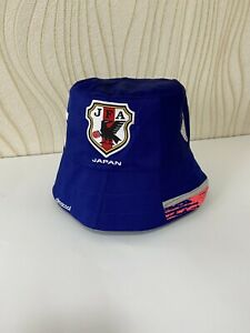 JAPAN BUCKET HAT FOOTBALL SOCCER hand made japan 2014 2015 home