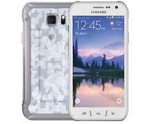 Samsung Galaxy S6 active SM-G890A 32GB - White (AT&T) Grade C