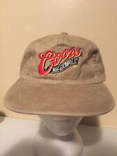 COORS BEER NEW VINTAGE Trucker Hat Baseball Cap Unique Retro Rare S