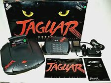 Atari Jaguar Game System Launch Version with Powermorph Game Complete and Rare