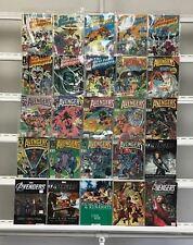 Avengers Marvel  25 Lot Comic Book Comics Set Run Collection Box2