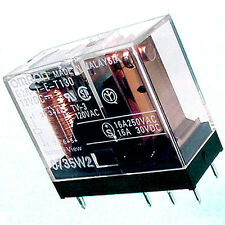 (8) 16 Amp POWER RELAY with 12 Volt Coil [by OMRON]