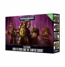 Warhammer 40k Chaos Death Guard Easy to Build Lord Felthius & Tainted Court NIB