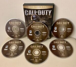 Call Of Duty Deluxe Edition Box Set 6 Discs for PC