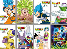 8 Dragon Ball Super Broly FRIDGE MAGNET Akira Toriyama Goku '18 photo poster SET