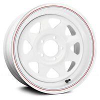 """6x139.7 16"""" Inch 4 Wheels Rims AWC 80 8 SPOKE 16x7 +0mm White"""