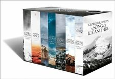 A Song of Ice and Fire: A Game of Thrones: The Story Continues: The Complete Boxset of All 7 Books by George R. R. Martin (Paperback, 2014)