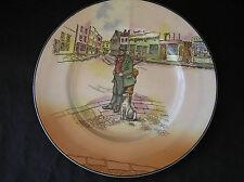 "Royal Doulton Dickensware Bill Sykes Plate, 10.5"""