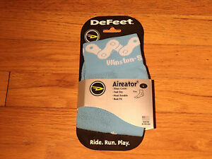 DeFeet Aireator Cycling Socks NWT Winston Salem Cycling Classic Size Large