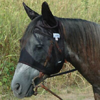 ARAB QUIET RIDE STANDARD EARS CASHEL FLY MASK CRUSADER Arabian for TRAIL Horse