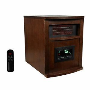LifeSmart LifePro 6 Element 1500W Portable Electric Infrared Quartz Space Heater