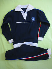Survetement Montana 70'S veste Pantalon + sweat Helanca Dropnyl Vintage - M