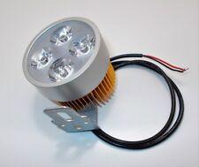 petit phare 4 LED 12v 1200 Lumen moto quad additionnel alu