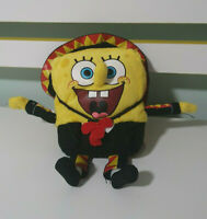 SPONGEBOB SQUAREPANTS PLUSH TOY SPANISH BLACK OUTFIT NICKELODEON CHARACTER TOY