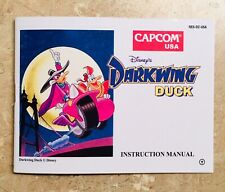 Darkwing Duck - NES Nintendo - Reproduction Manual Instruction Booklet - No Game