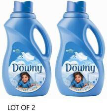 Downy Ultra Fabric Softener Liquid Clean Breeze 34 oz ( two - lot of 2)