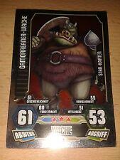 Force Attax Star Wars Serie 3 Star-Karte 219 Gamorreaner Wache Sammelkarte