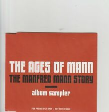 Manfred Mann-UK promo album sampler cd