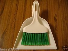 #112 WHISK BROOM WITH DUST PAN  HIDDEN DIVERSION SECRET SAFE  COMPARTMENT CAN