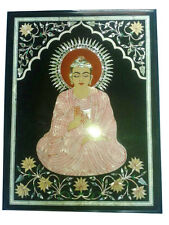 1.5'x2' Marble Coffee Table Top Marquetry Mosaic Budha Inlay Art Furniture Decor