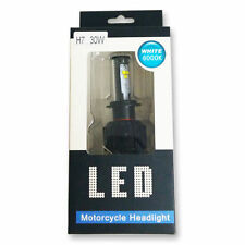 LAMPADA LED H7 30W ULTRA WHITE 6000K DUCATI HONDA KAWASAKI SUZUKI SCOOTER MOTO