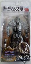 """SAVAGE THERON #2 Gears of War 3 Video Game 7"""" Action Figure Series 3 Neca 2012"""