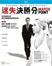 "Jonathan Rhys Meyers ""Match Point""  Scarlett Johansson Crime Region  A Blu-Ray"