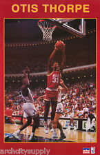 POSTER: NBA BASKETBALL : OTIS THORPE - HOUSTON ROCKETS - FREE SHIPPING ! RW4 G