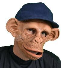 Chee Monkey Ape Mask Moving Mouth Adult Chimp Chimpanzee Halloween Costume Mask
