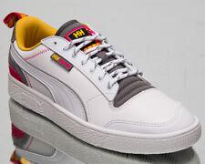 Puma x Helly Hansen Ralph Sampson Men's White Pink Yellow Lifestyle Sneakers