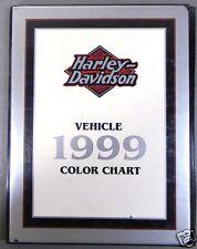 Harley-Davidson Dealer Only 1999 Motorcycle Color Chart