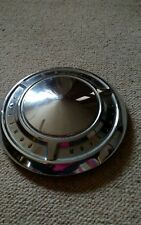 Vintage Pontiac Motor Division dog dish style steel hub cap