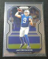 K84 2020 Jacob Eason Prizm RC #331 INDIANAPOLIS COLTS ROOKIE CARD