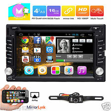 2017 New Android 6.0 HD WiFi 2 Din Car Head Unit Stereo Radio DVD Player GPS Nav