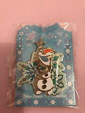 Pin's Disneyland Paris Event Olaf flocon Snowflake Frozen pin LE 700
