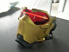 OW Soldier 76  Gold golden mask Overwatch cosplay  Light-up LED mask