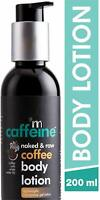 Naked & Raw Coffee Body Lotion Moisturization White Water Lily Shea Butter