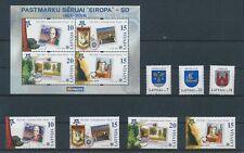 LM43898 Latvia Europa Cept stamp anniversary fine lot MNH