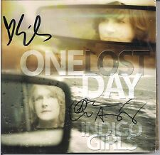 One Lost Day * by Indigo Girls (CD, 2015) Original Signed